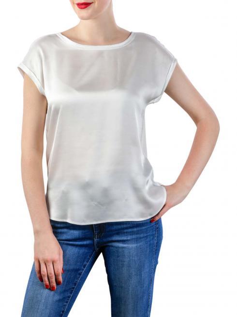 Yaya Fabric Mix Top blanc de blanc