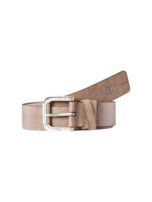 Sue taupe 40mm by BASIC BELTS