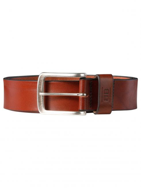 Frank cognac 40mm by BASIC BELTS