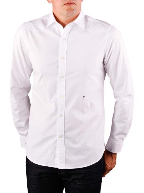 Replay Cotton Shirt blue