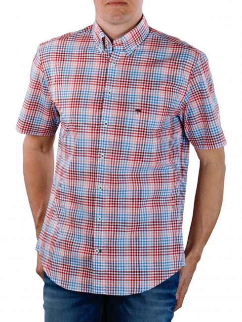 Fynch-Hatton Coloured Combi Shirt berry blue