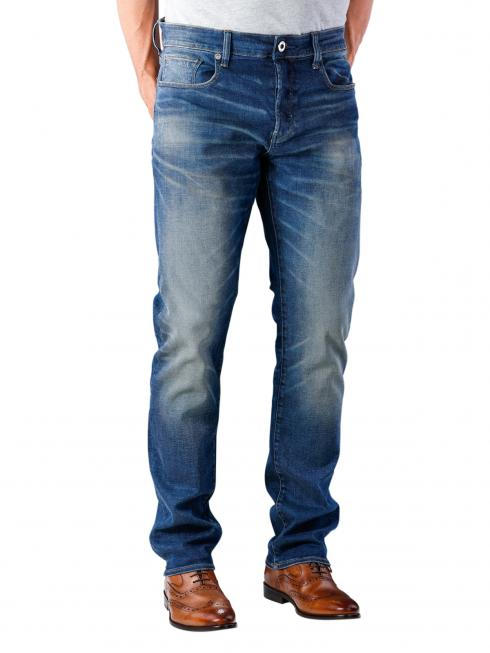G-Star 3001 Straight Jeans Joane Stretch worker blue faded