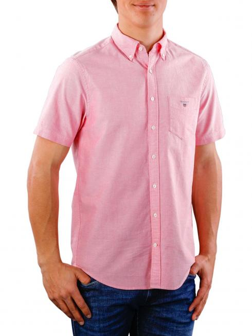 Gant The Oxford Shirt Reg SS BD watermelon red