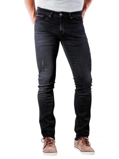 Tommy Jeans Scanton Slim pine black stretch