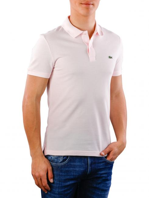 Lacoste Polo Shirt Slim Short Sleeves flamant