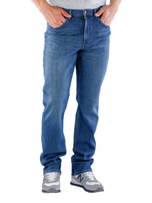 Lee Brooklyn Straight Jeans rider blues
