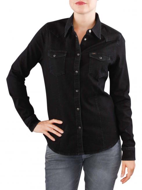 Lee Slim Western Jacket bleecker black