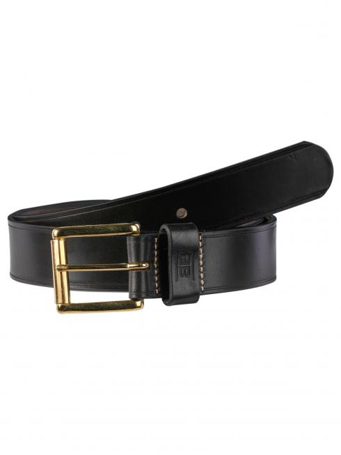 Pat Gold black 40mm by BASIC BELTS