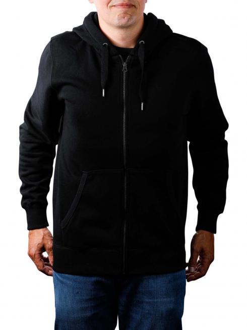 Pepe Jeans Zip Front Hoodie black