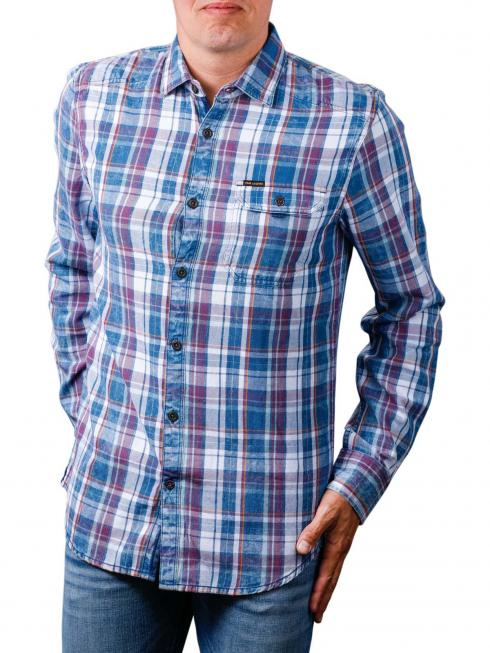 PME Legend Long Sleeve Shirt indigo