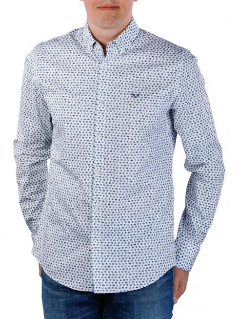 PME Legend Long Sleeve Shirt Poplin weiss