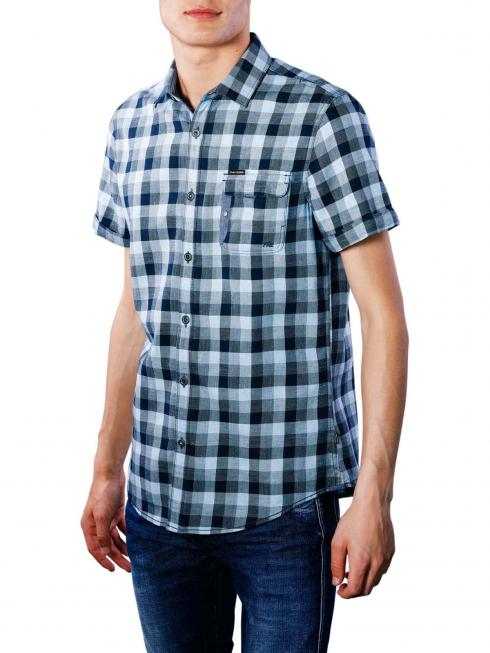 PME Legend Short Sleeve Shirt Melange Check Miro 5094