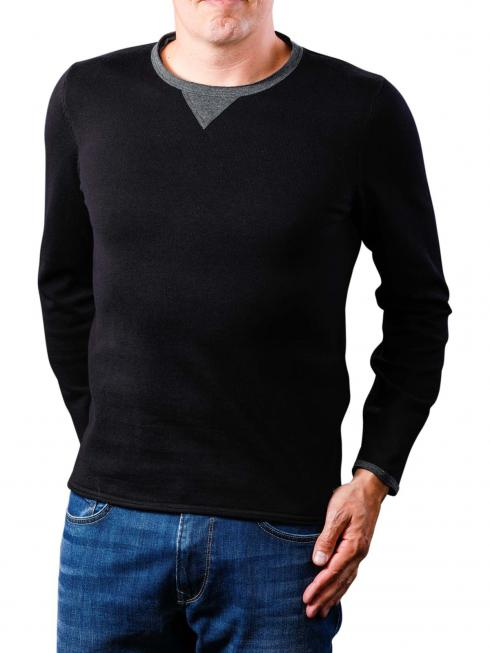 Replay Pullover Masche dark blue