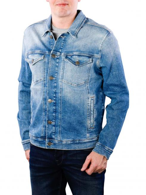 Tommy Jeans Regular Trucker Jacket falcon light blue