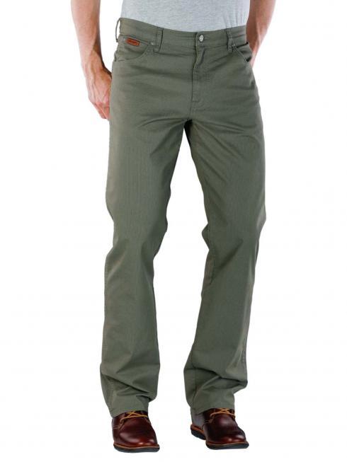 Wrangler Texas Stretch Pant Lightweight moss green