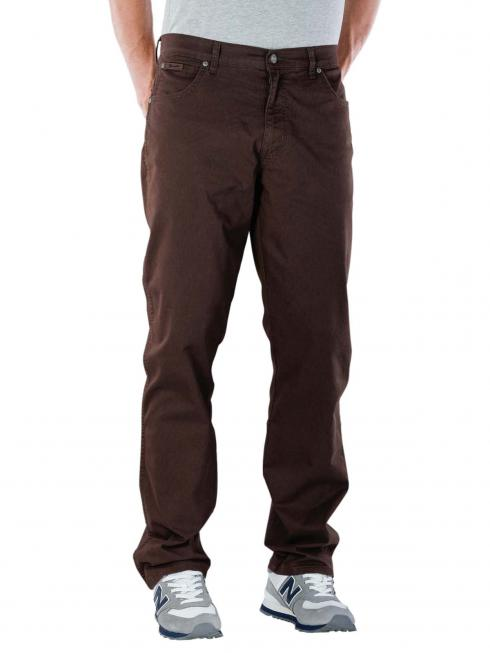 Wrangler Texas Stretch Pant Lightweight chocolate brown