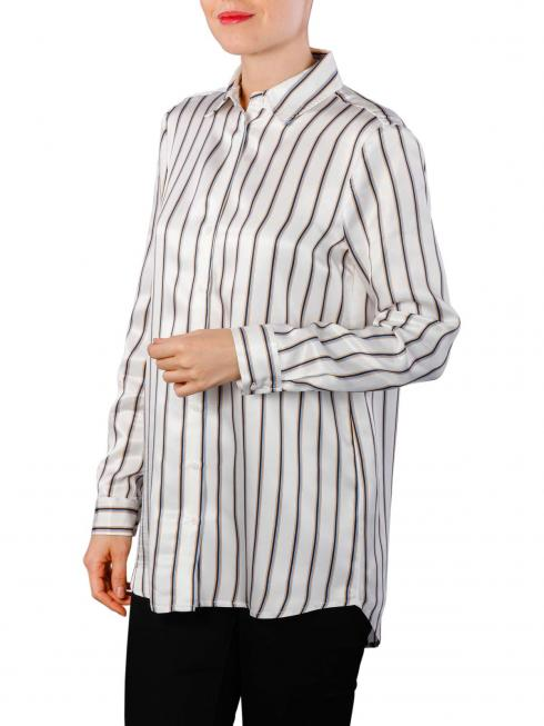 Yaya Long Blouse Striped off white dessin