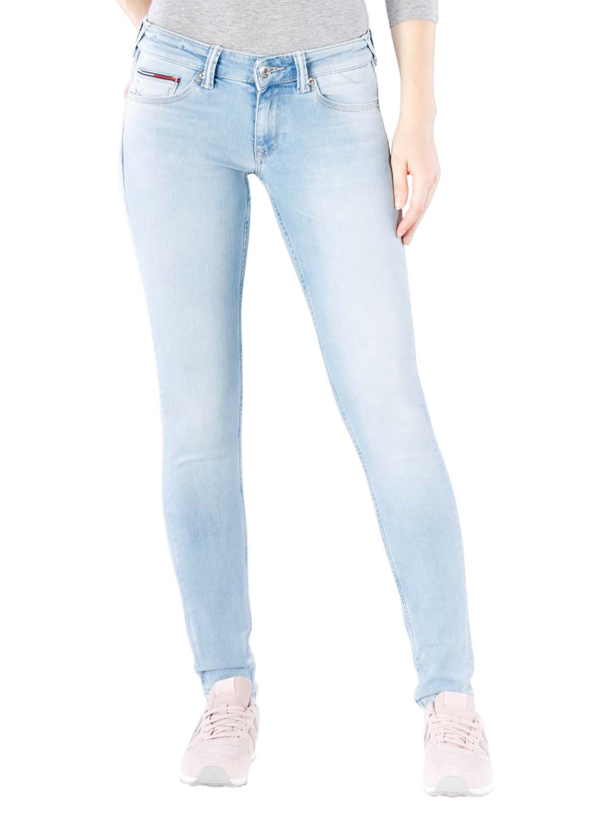 tehtaan aito uusi luettelo erinomainen laatu Tommy Jeans Sophie Skinny florida super light blue W26/L34