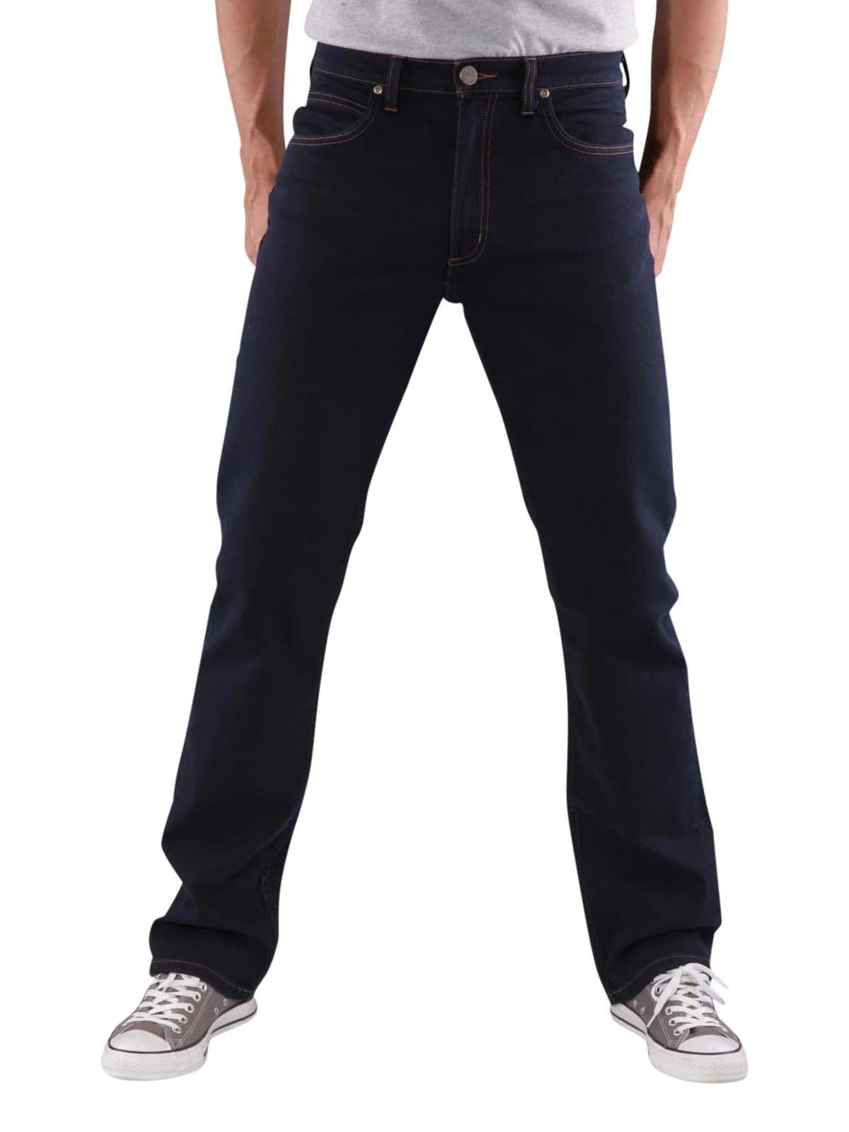 Lee Brooklyn New Men/'s Stretch Jeans Straight Leg Side Light Blue Denim