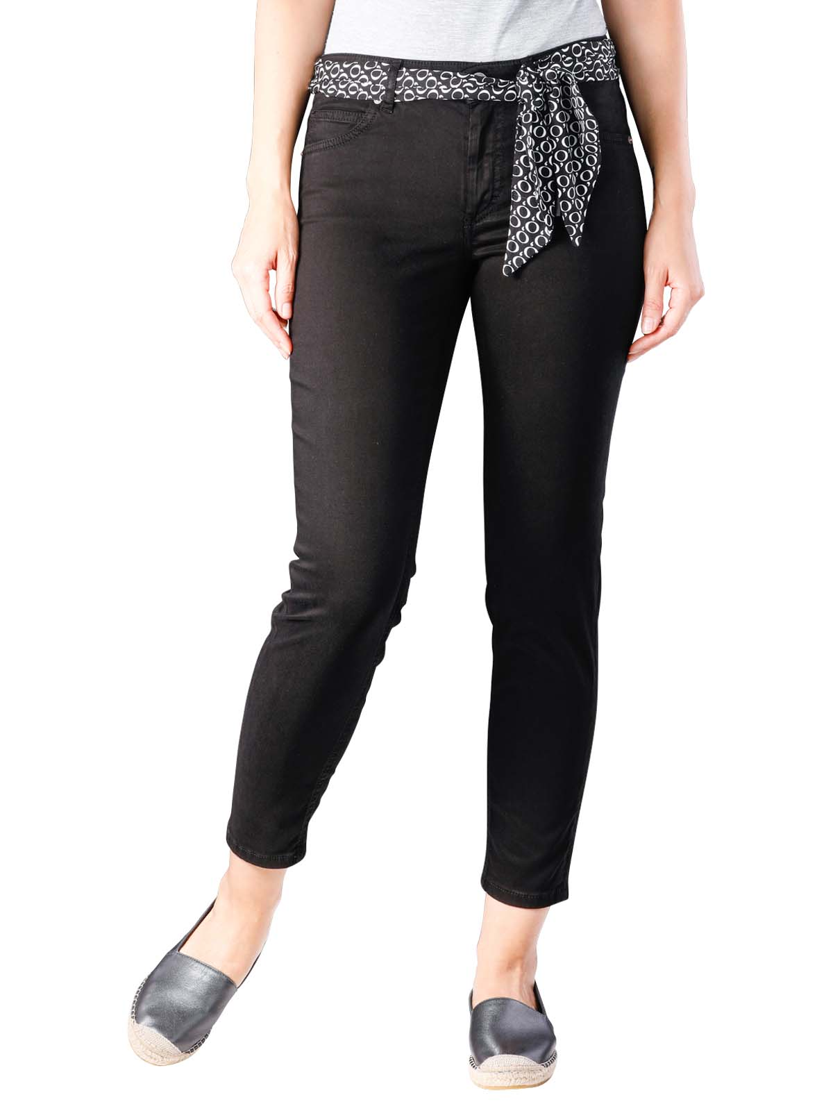 affordable price clearance sale offer discounts Marc O'Polo Lulea Slim Cropped Jeans black W26/L32