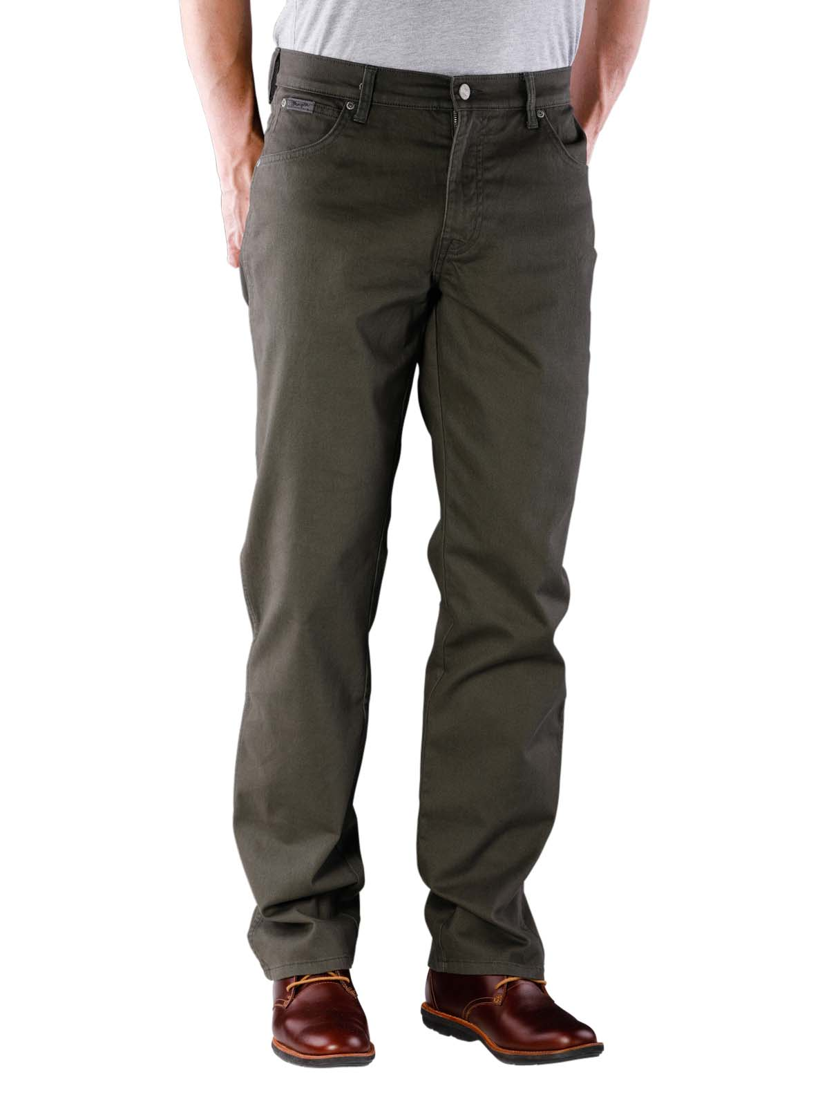 Lee Brooklyn New Men's Cords Deep Green Stretch Corduroy Jeans Straight Fit